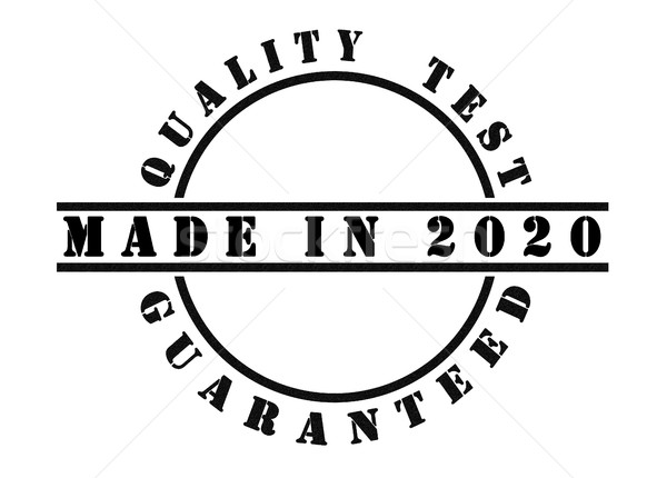 Made in 2020 Stock photo © michaklootwijk
