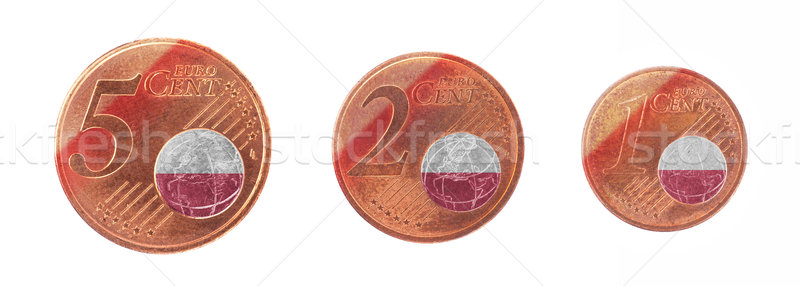 European union concept - 1, 2 and 5 eurocent Stock photo © michaklootwijk