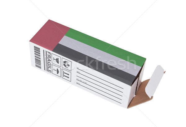 Concept of export - Product of the United Arab Emirates Stock photo © michaklootwijk