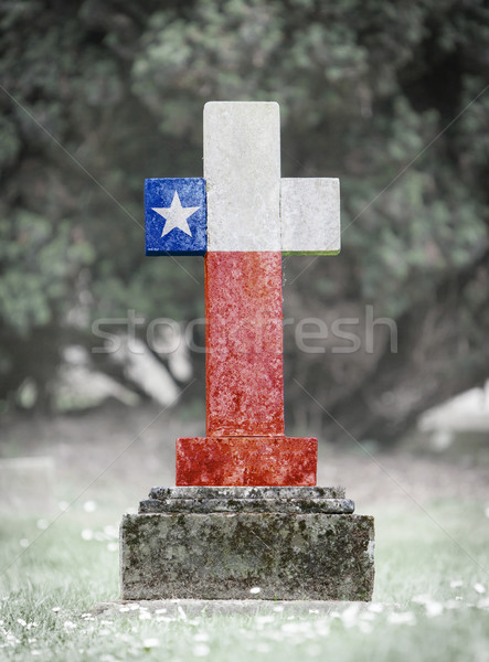 Gravestone in the cemetery - Chile Stock photo © michaklootwijk
