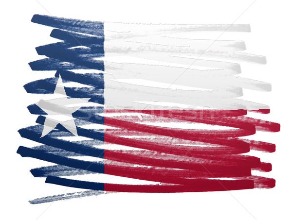 Flag illustration - Texas Stock photo © michaklootwijk