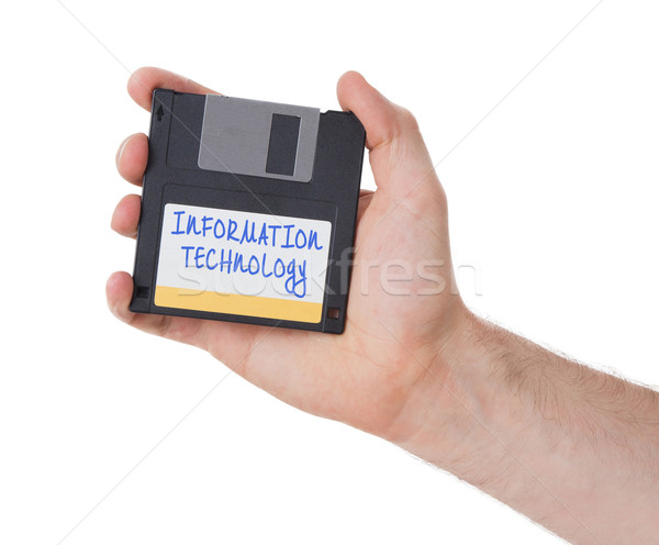 Floppy disk, data storage support  Stock photo © michaklootwijk