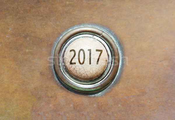 Old button - 2017 Stock photo © michaklootwijk