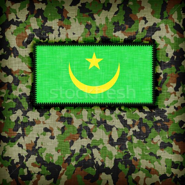 Amy camouflage uniform, Mauritania Stock photo © michaklootwijk