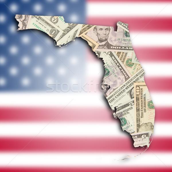 Map of Florida Stock photo © michaklootwijk