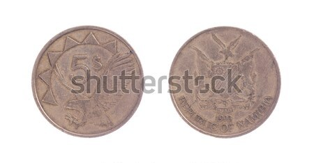 Old one dollar coin Stock photo © michaklootwijk