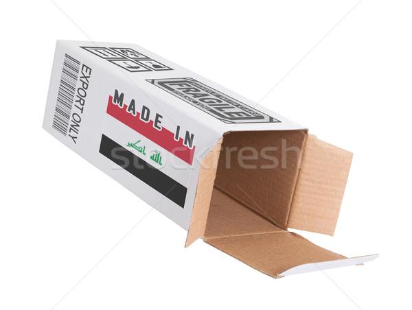 Concept of export - Product of Iraq Stock photo © michaklootwijk