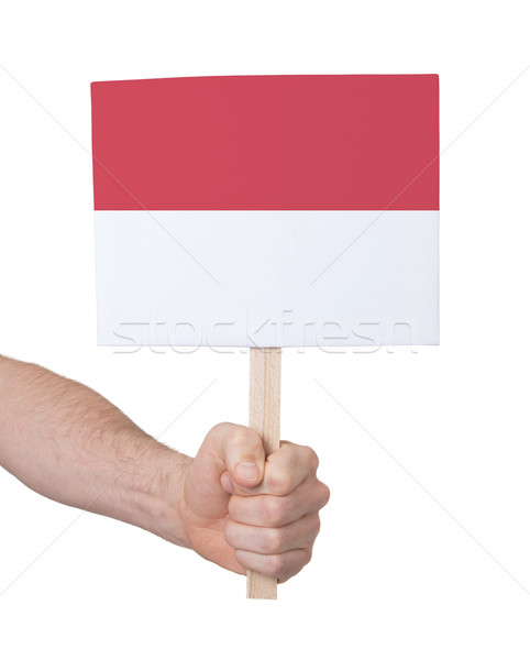 стороны небольшой карт флаг Монако Сток-фото © michaklootwijk