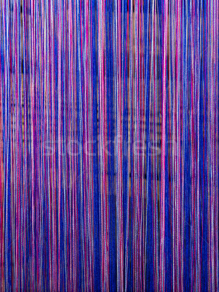 Handgemaakt zijde textielindustrie sjaal oude machine Stockfoto © michaklootwijk