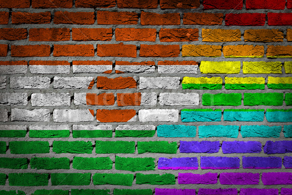 Dark brick wall - LGBT rights - Niger Stock photo © michaklootwijk