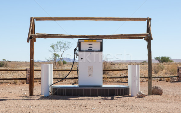 Eski stil çöl Namibya gaz Stok fotoğraf © michaklootwijk