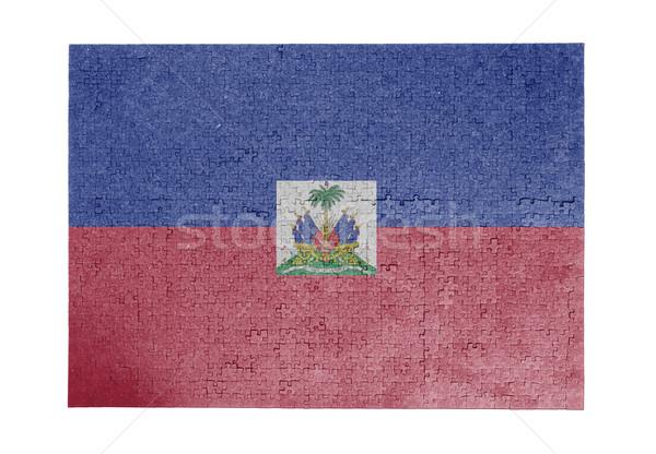 ジグソーパズル 1000年 ピース ハイチ フラグ ストックフォト © michaklootwijk