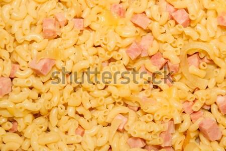 Macaroni kaas ui voedsel diner Stockfoto © michaklootwijk