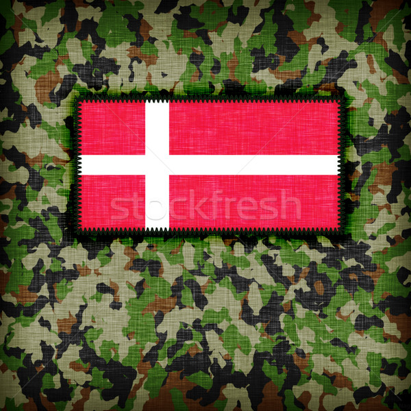 равномерный Дания флаг текстуры аннотация Сток-фото © michaklootwijk