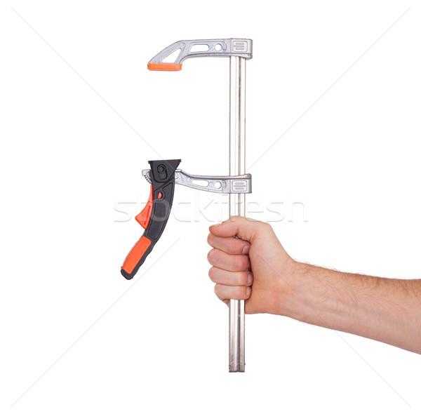 Modern joiner clamp Stock photo © michaklootwijk