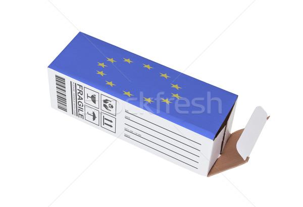 экспорт продукт европейский Союза бумаги Сток-фото © michaklootwijk