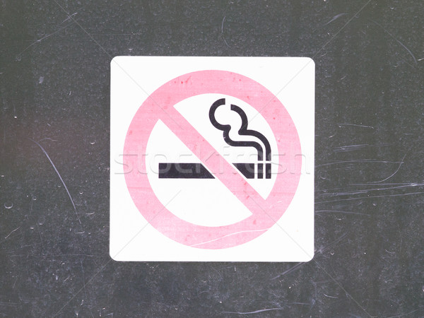 Don't smoke sign Stock photo © michaklootwijk