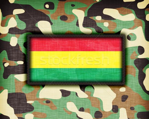 равномерный Боливия флаг текстуры аннотация Сток-фото © michaklootwijk