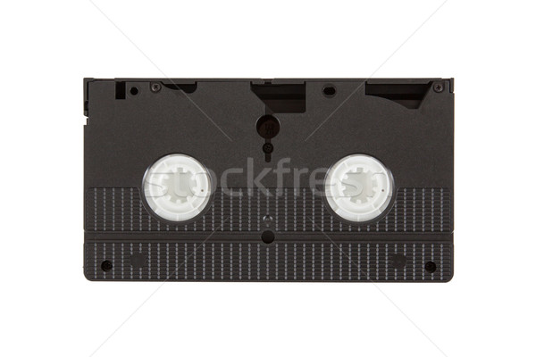 Starych wideo kaseta odizolowany biały ukończeniu Zdjęcia stock © michaklootwijk