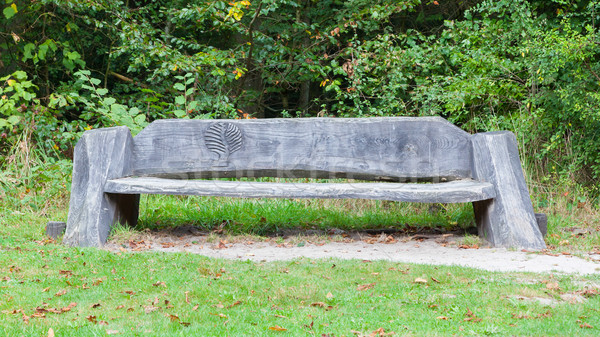 Unique bench in a park Stock photo © michaklootwijk