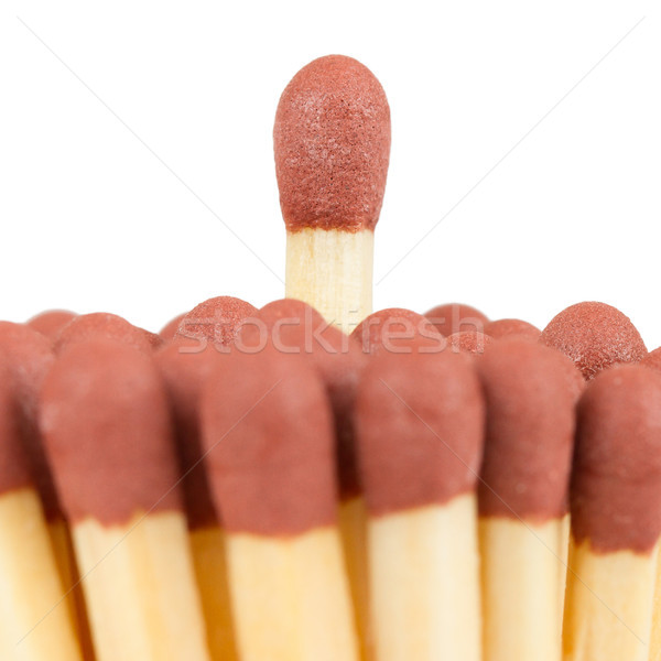 Group of matches, isolated Stock photo © michaklootwijk