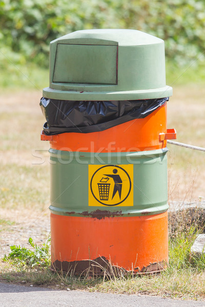 Edad verde naranja naturaleza limpio Foto stock © michaklootwijk
