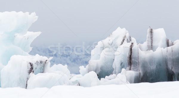 Büyük göl güneydoğu buz iş su Stok fotoğraf © michaklootwijk