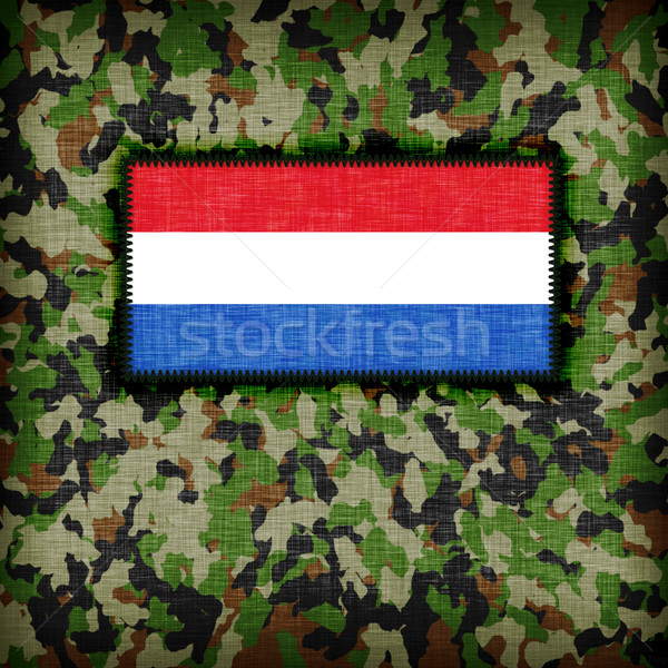 Uniforme Paesi Bassi bandiera texture abstract Foto d'archivio © michaklootwijk