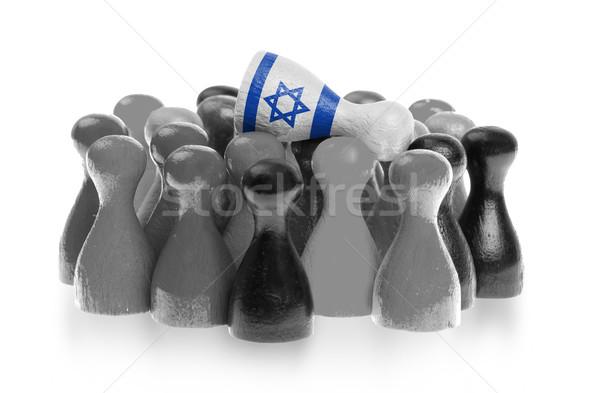 Bir üst bayrak İsrail Stok fotoğraf © michaklootwijk