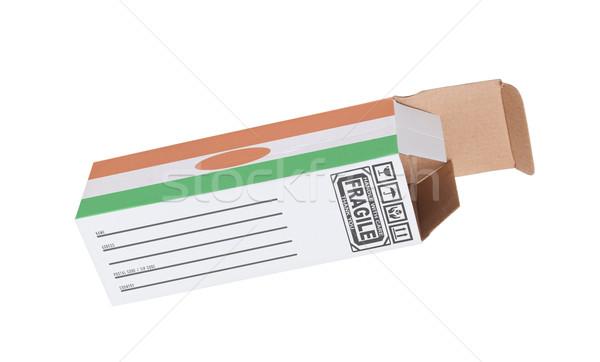 Exportar producto Níger papel cuadro Foto stock © michaklootwijk