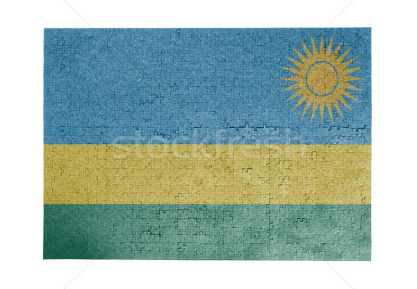 1000 sztuk Rwanda banderą Zdjęcia stock © michaklootwijk
