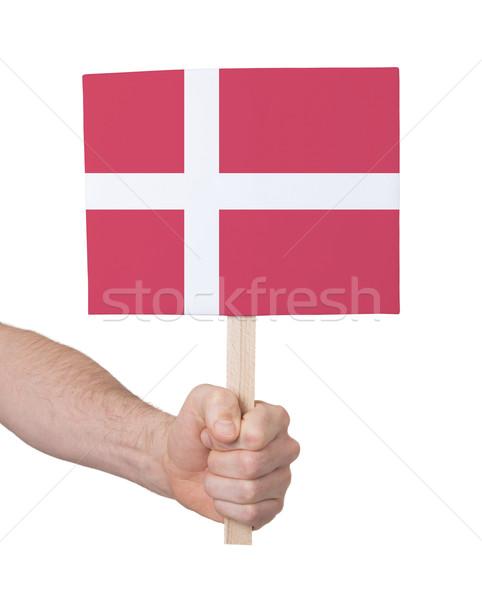 стороны небольшой карт флаг Дания Сток-фото © michaklootwijk