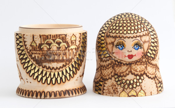 Russian wooden doll - Matryoshka Stock photo © michaklootwijk