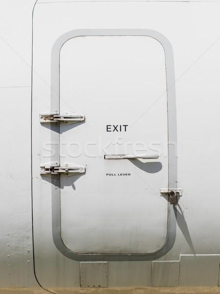 Emergency exit door Stock photo © michaklootwijk