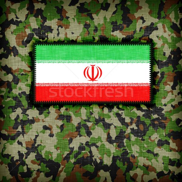 Amy camouflage uniform, Iran Stock photo © michaklootwijk