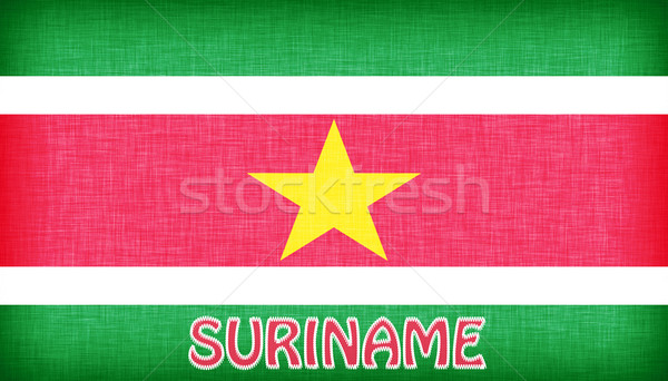 флаг Суринам письма текстуры фон Сток-фото © michaklootwijk