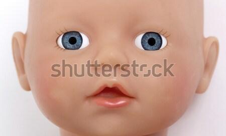ребенка игрушку нет товарный знак изолированный белый Сток-фото © michaklootwijk