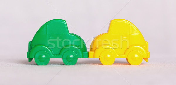 Toy cars isolated Stock photo © michaklootwijk