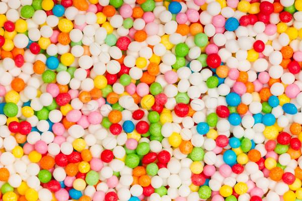 Sweet sugar spreading pastry decoration background Stock photo © michaklootwijk