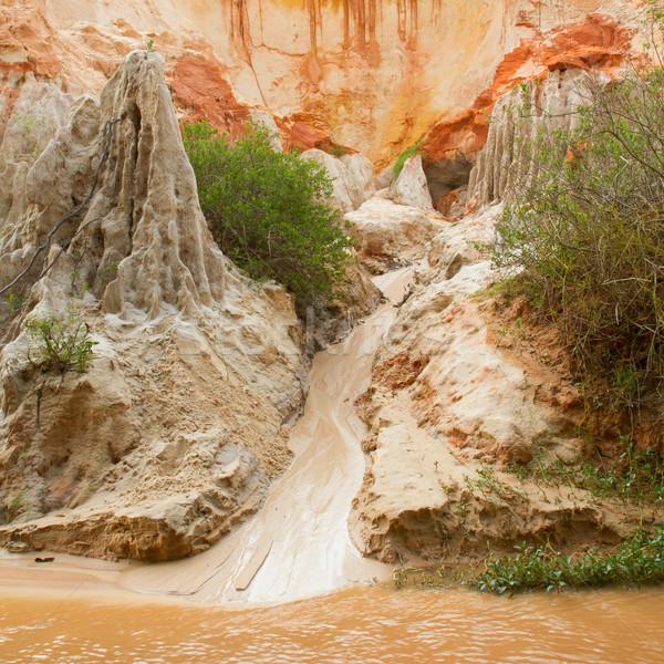 Ham Tien canyon in Vietnam  Stock photo © michaklootwijk