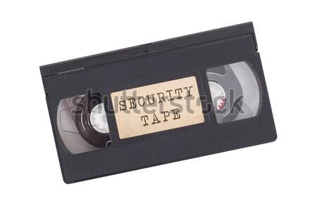Very old videotape (video cassette)  Stock photo © michaklootwijk