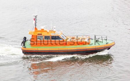 Redding boot water geen mensen brand veiligheid Stockfoto © michaklootwijk