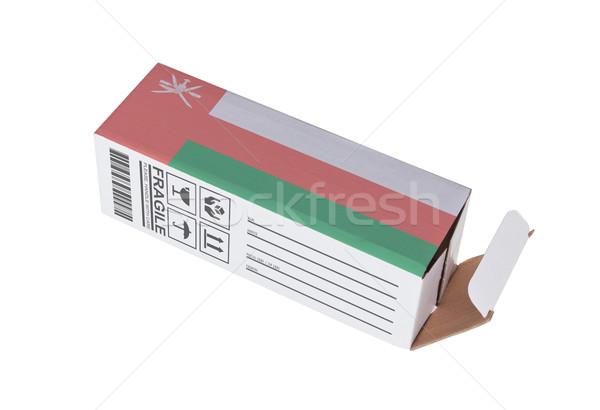 Concept of export - Product of Oman Stock photo © michaklootwijk