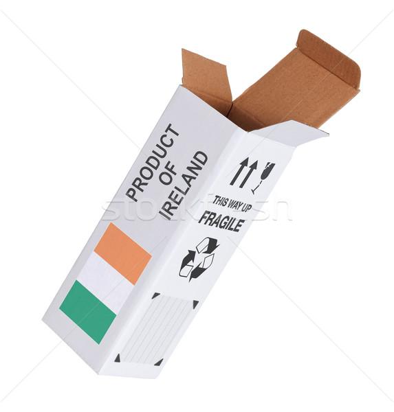 Eksport produktu Irlandia papieru polu Zdjęcia stock © michaklootwijk