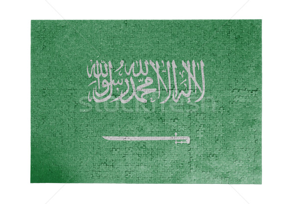 Large jigsaw puzzle of 1000 pieces- Saudi Arabia Stock photo © michaklootwijk