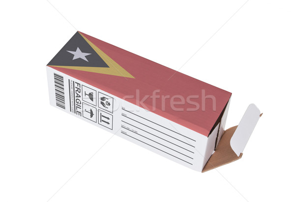 Concept of export - Product of East Timor Stock photo © michaklootwijk