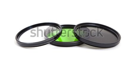 Photo filters isolated  Stock photo © michaklootwijk
