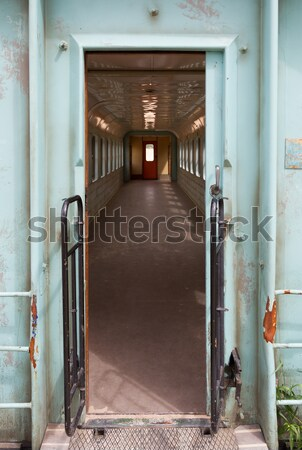 Old empty train carriage Stock photo © michaklootwijk