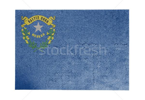 большой 1000 частей Невада флаг Сток-фото © michaklootwijk