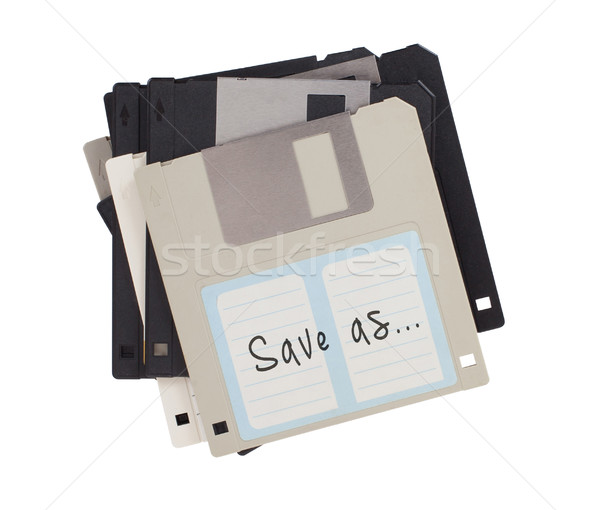 Stok fotoğraf: Disk · destek · yalıtılmış · beyaz · kurtarmak